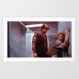 Seabass And Manly Love - Dumb And Dumber Art Print