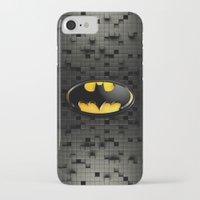 bat man iPhone & iPod Cases featuring BAT MAN by BeautyArtGalery