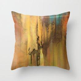 Desert Rise Art Throw Pillow