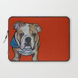 Johnny the English Bulldog Laptop Sleeve