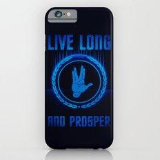 Live Long and Prosper - Spock's hand - Leonard Nimoy Geek Tribut Slim Case iPhone 6s