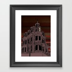 Haunted House #3 Framed Art Print