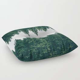 Forest Reflections X Floor Pillow
