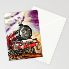 Princess Royal - Express Locomotive at Speed Stationery Cards
