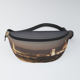 Night cityscape of Florence. Fanny Pack