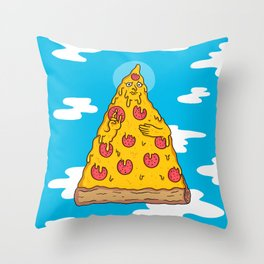 Pizza Be With You Throw Pillow
