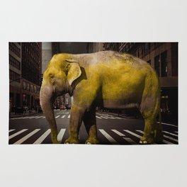 Elephant in New York Rug