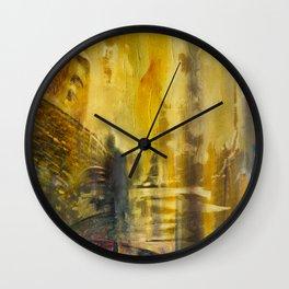 #Abstrakt Indi Wall Clock