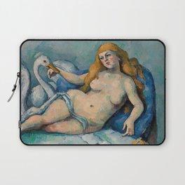 Leda and the Swan, Paul Cezanne, 1880 Laptop Sleeve