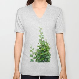 By the wall Unisex V-Neck