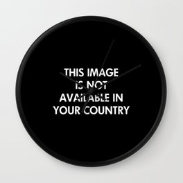 Censorship Wall Clock