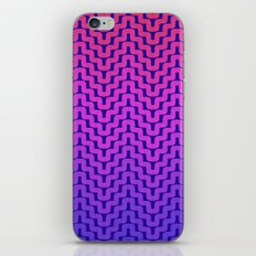 Rick Rack Pink Ombre iPhone & iPod Skin