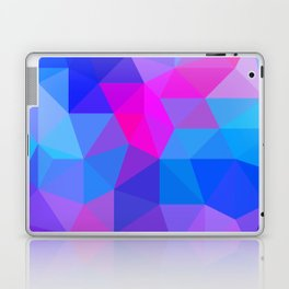 Magenta Blacklight Low Poly Laptop & iPad Skin