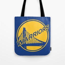 Golden State blue basketball logo Tote Bag