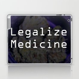 Legalize Medicine #loveLeafleur Laptop & iPad Skin