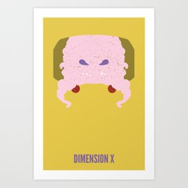 Krang - Dimension X Art Print