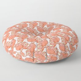 Floral Shaped Fruits Pattern Floor Pillow