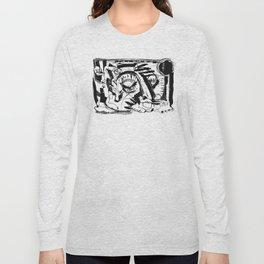 Shelter - b&w Long Sleeve T-shirt