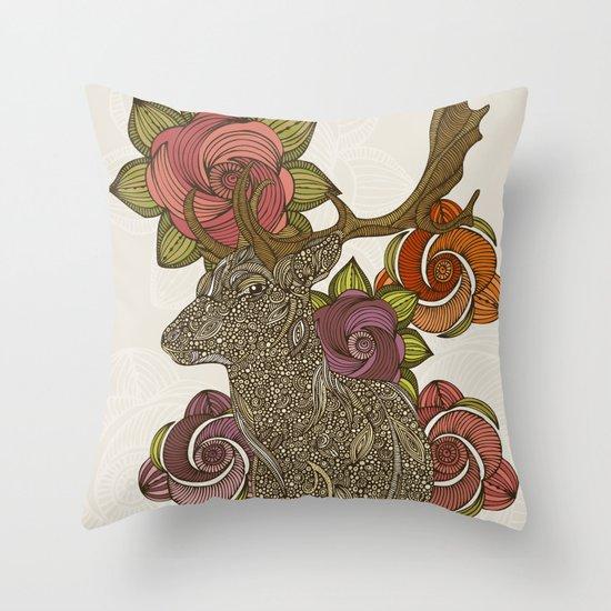 Dear deer Throw Pillow