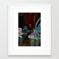 indonesia Framed Art Prints featuring Indonesia by Maryse Kok