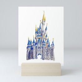 Princess Castle / Disneyland / Fine Art Giclee Print Mini Art Print