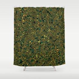 CoriandoliTech 25 Shower Curtain