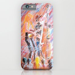 I Love Bluegrass Pastel Painting iPhone Case