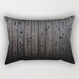 Silvered Slats Rectangular Pillow