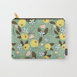 Sexy & Free Floral Carry-All Pouch