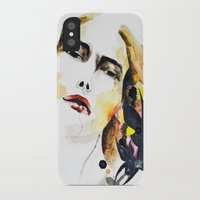 grateful dead iPhone & iPod Cases featuring Grateful by Mitra Art