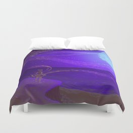 Merge with the Universe Duvet Cover