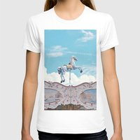carousel T-shirts featuring carousel by cavernsss