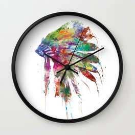 Headdress Wall Clock