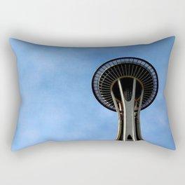 Space Needle Rectangular Pillow