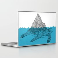 turtle Laptop & iPad Skins featuring Turtle by David Penela