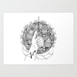 Lunacy Art Print