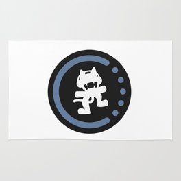 MonsterCat logo  Rug