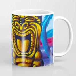 Tiki Moon Coffee Mug