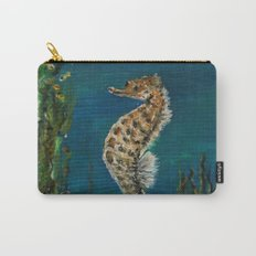 The Spectacular Seahorse Carry-All Pouch