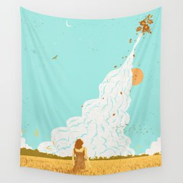 ROCKET LAUNCH Wall Tapestry