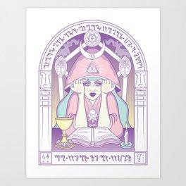 current 93 - purple Art Print