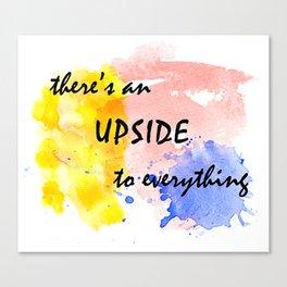 Upside Canvas Print