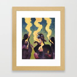 The Estranged Community Framed Art Print