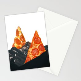 Pizza mountains Stationery Cards