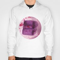 transparent Hoodies featuring transparent Purple by seb mcnulty