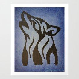 Wolf Spirit 1. Art Print