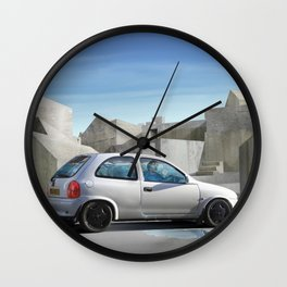 Is that concrete all around or is it in my head? Wall Clock