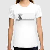 pablo picasso T-shirts featuring PABLO PICASSO AT BEACH by VAGABOND