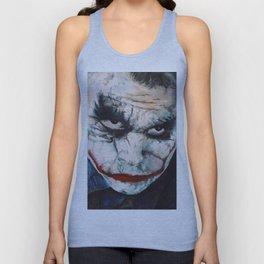 Heath Ledger, The Joker Unisex Tank Top