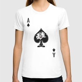 Sawdust Deck: The Ace of Spades T-shirt